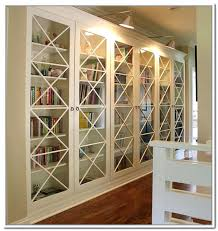 Antique White Bookcases Bookcase Library Bookcase With Glass Doors Adorable Designed