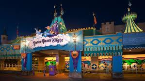 peter pan flight walt disney resort