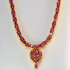 ruby necklace earrings images Elegant ruby necklace matching earrings set 16 39 39 100 ways JPG