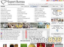 export bureau exportbureau com international trade marketplace for manufacturers