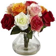 Wine Glass Flower Vase Faux Flowers Joss U0026 Main