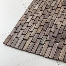 tappeti da bagno set 2 tappeti bagno in legno di teak rosewood a prezzi scontati
