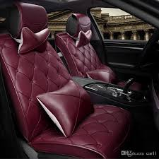 luxury leather car cushion have pillows universal for mercedes