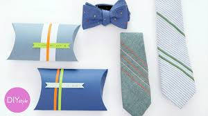tie box gift how to make a knot tie gift box diy style with erin