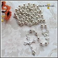 cheap rosaries cheap rosaries necklace buy quality necklace silver directly from