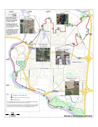 Map Of Boston Marathon Course by Marathon Course Pacific Northwest Marathon