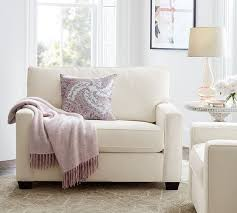 Pottery Barn Buchanan Sofa Review Buchanan Square Arm Upholstered Twin Sleeper Sofa Pottery Barn