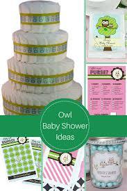 owl baby shower theme home design