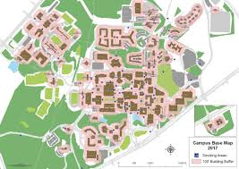 Unc Map Printable Campus Maps Facilities Management Unc Charlotte