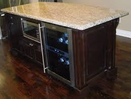 kitchen island with refrigerator kitchen island with built in microwave and beverage fridge home