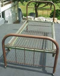 43 best vintage iron bed project images on pinterest metal beds