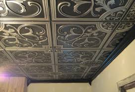 ceiling thrilling whitewashed tin ceiling tiles sensational