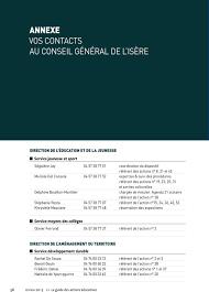 chambre des notaires de l isere annexe vos contacts au conseil général de l isère pdf
