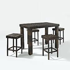 high table patio set patio high top table set
