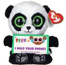walmart audit factory ty beanie babies poo panda 15 tablet