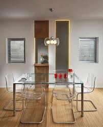 Formal Contemporary Dining Room Sets Glass Chairs And Table Modern Dining Room Set Home Interiors