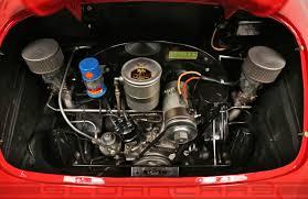 1956 porsche 356 speedster signal red black restored sloan cars