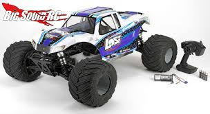 rc monster trucks videos losi 1 5 monster truck xl rtr with avc big squid rc u2013 news