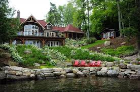 lake home airbnb rent wendel clark s lakefront muskoka cottage on airbnb style at home