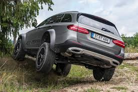 4x4 mercedes mercedes engineer creates e class all terrain 4x4
