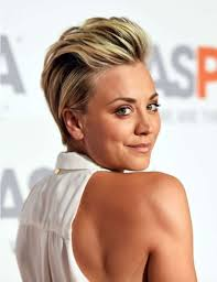 trendy short haircut with slicked back hair one1lady com