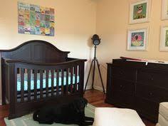 gray walls with dark crib baby things tanya pinterest