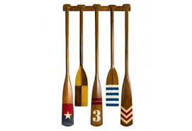 Decorative Canoe Paddles Decorative Wooden Oars For Wall Decor Gonautical