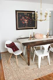 rugs dining room changes in the dining room thewhitebuffalostylingco com