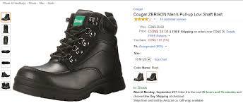 amazon canada s boots amazon ca zergon s pull up low shaft boot 30c
