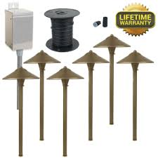 Led Low Voltage Landscape Lighting Kit Led Landscape Lighting Kits Gardening Design