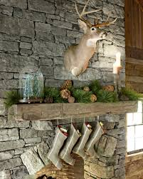 24 christmas mantel decorations ideas for holiday fireplace