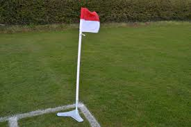 Football Flag Printing Corner Flag Base Spring Back Corner Flag Base By Mark Harrod
