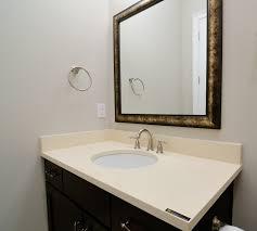 mirror mirrored bathroom vanity bronze mirrors framed mirrors