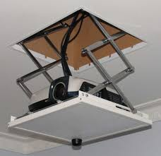 Vaulted Ceiling Tv Mount by Best 10 Projector Mount Ideas On Pinterest Cable Grommet Wall