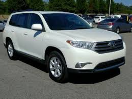 toyota highlander used toyota crossovers for sale carmax