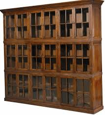 Sauder Oak Bookcase by Furniture Bookcase With Glass Doors To Keeps Your Favorite Items