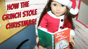 diy american doll book how the grinch stole christmas youtube
