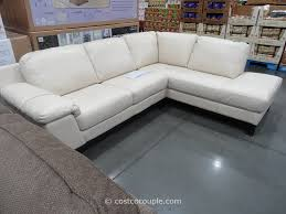 Sectional Sofa With Chaise Costco Furniture Genuine Leather Sectional With Chaise Sofa Bed Costco