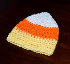 Raiders Thanksgiving Hat Candy Corn Hat Halloween Hat Baby Candy Corn Beanie Primie