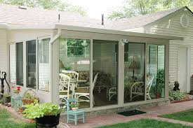 Outdoor Glass Patio Rooms - view 3 season studio style patio room photos
