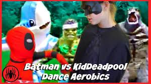 Kids Godzilla Halloween Costumes Kid Deadpool Batman Dance Aerobics Hulk Spiderman Godzilla