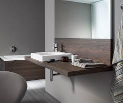 wooden vanity top with towel rack dl040c by eoos duravit