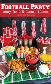 football party ideas football party easy food decor ideas