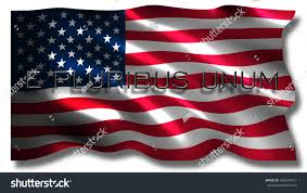 3d rendered flag united states country stock illustration