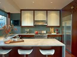 kitchen white marble kitchen countertop brown wood leather chair