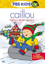 caillou s winter wonders caillou s winter wonders