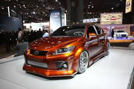 lexus ct200h used toronto on top of the metallic burnt orange paint the aftermarket company