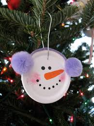 easy snowman ornament crafts