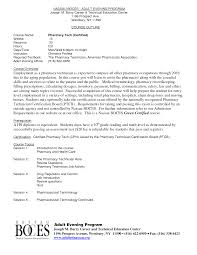 Pharmacy Technician Resume Examples by Pharmacy Tech Trainee Cover Letter No Experience Sample Customer