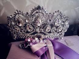 bridal crowns 2016 newest luxury crystals european bridal crowns for wedding